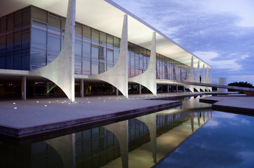 Planalto Palace-01 modernist architecture