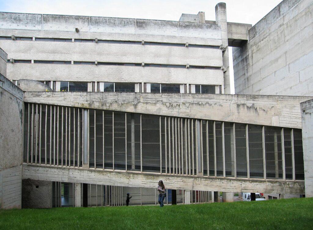 The Convent of La Tourette-01 modernist architecture