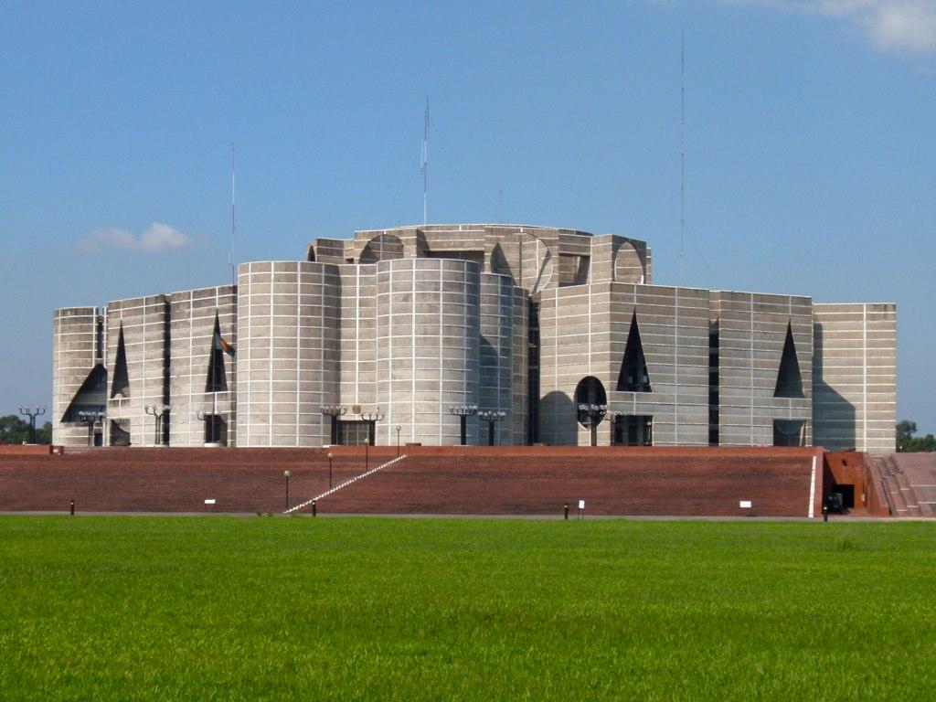 The National Assembly Building, Bangladesh-01