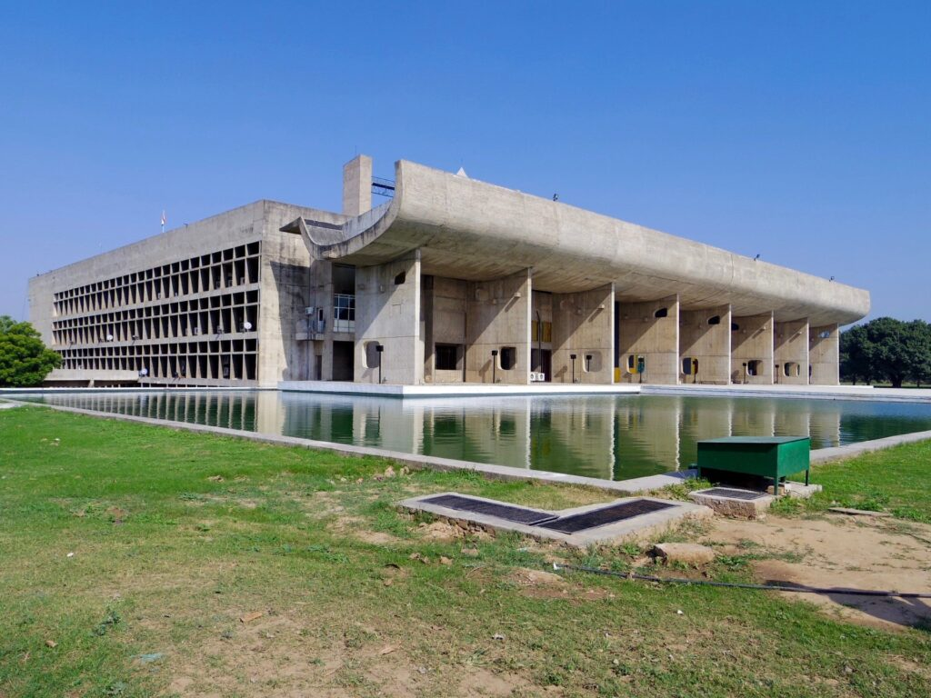 The assembly building, India - 02 modernist architecture
