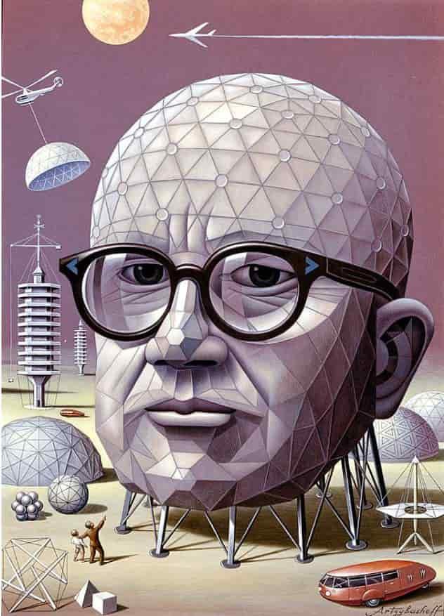 Buckminster Fuller: The man behind Geodesic Dome!