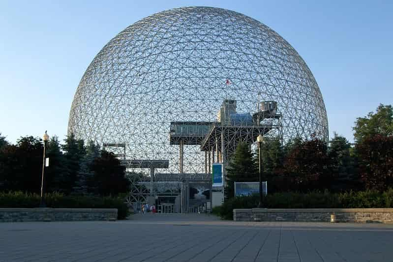 American exhibit at Expo 67, Montreal - Geodesic Dome